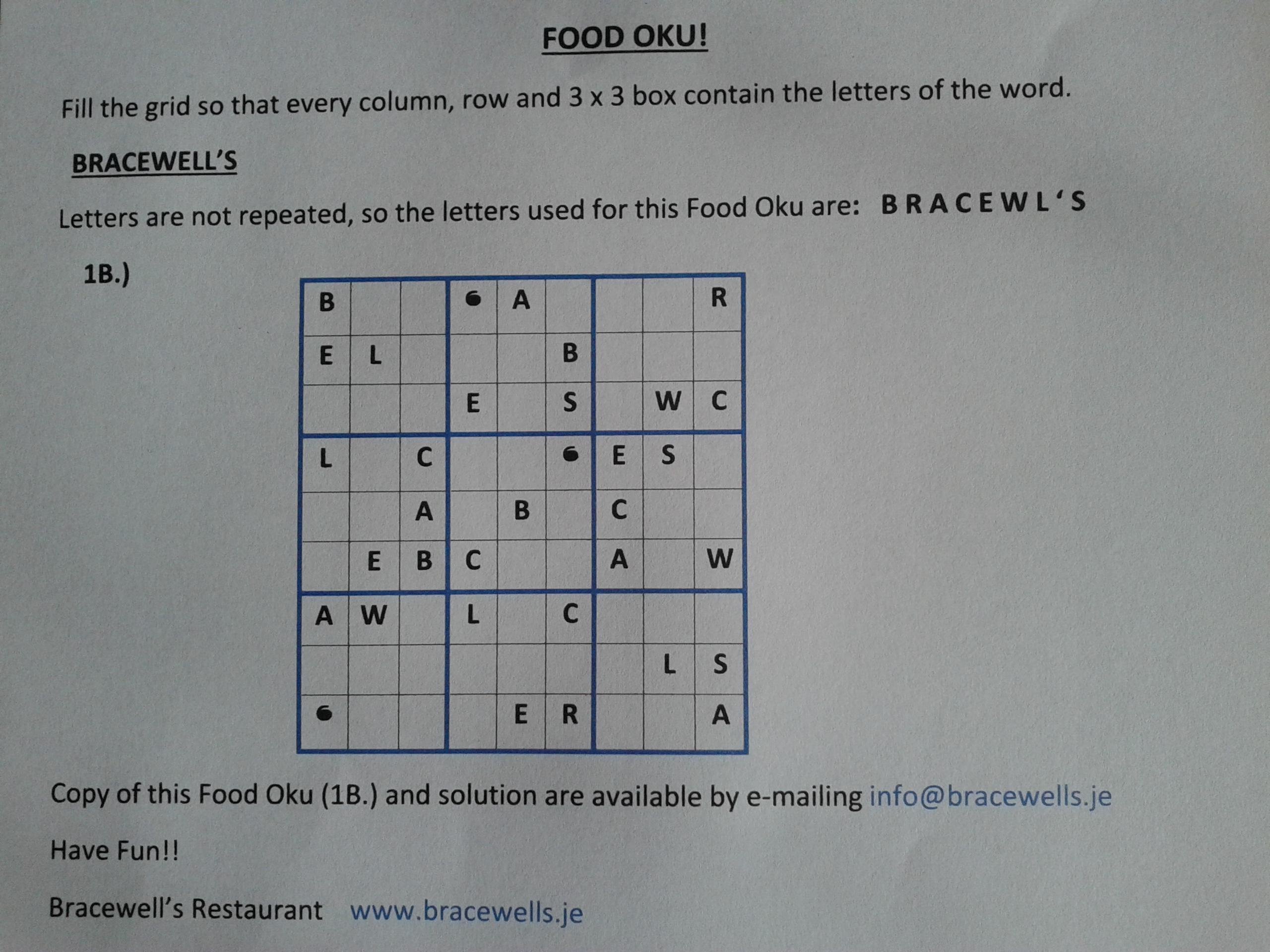 Food Oku!